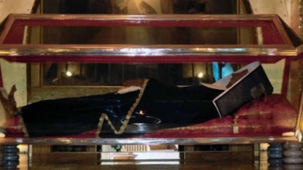 O corpo incorrupto de Santa Rita de Cássia