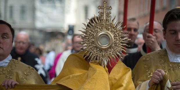 Como surgiu a festa de Corpus Christi
