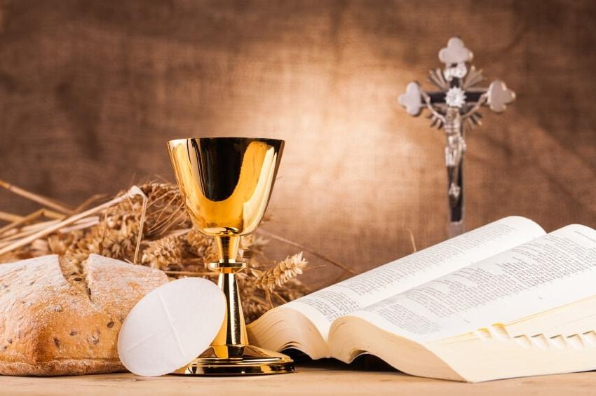 quais são os 7 sacramentos da igreja - eucaristia