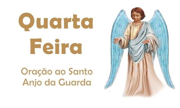 anjo da guarda benção da quarta-feira