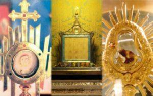 o que rezar diante ao santissimo sacramento