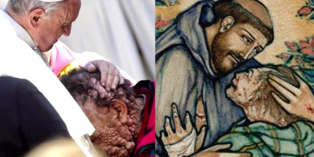 Os Franciscos e seus abraços em quem ninguém queria abraçar