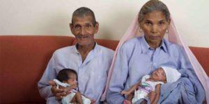 Mãe mais velha do mundo dá à luz a gêmeos aos 70 anos, mas um fim trágico atingiria a vida deles