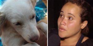 Mulher é gravada jogando cão em bueiro. Horas depois ela se justifica e revolta a internet