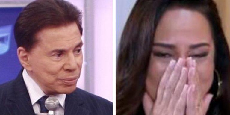 Silvia Abravanel se emociona ao falar sobre como Silvio Santos a contou que era adotada