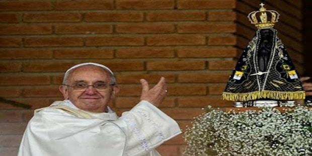 Consagre-se a Nossa Senhora Aparecida com esta oração do Papa Francisco