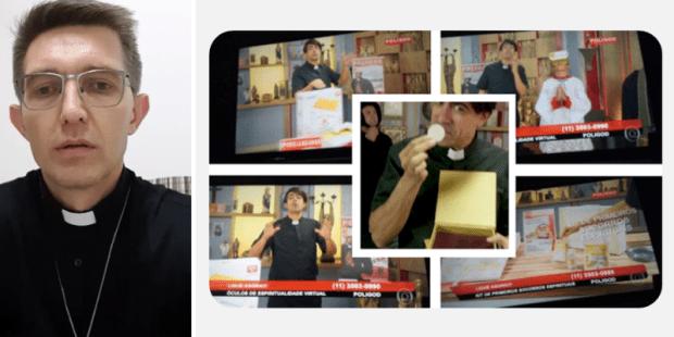 Rede Globo ataca novamente, agora zombando da Santíssima Eucaristia