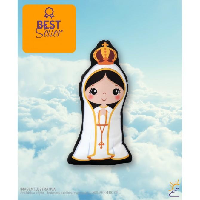 Boneco de Nossa Senhora de Fátima